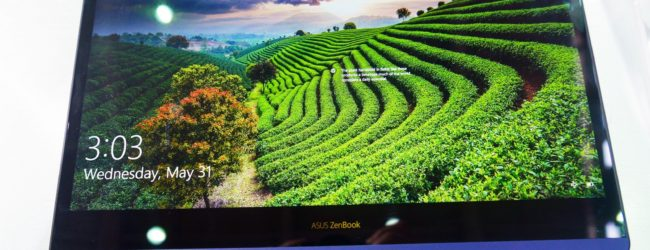 Hands on: Asus ZenBook Flip S