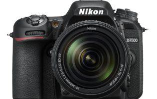 Hands on: Nikon D7500