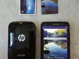 Hands on: HP Sprocket