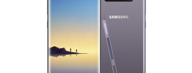 Hands on: Samsung Galaxy Note 8