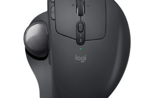 Logitech brings back the trackball with MX Ergo