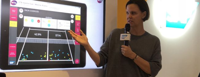 With live match data, sports journalists now get real-time insights at tennis matches