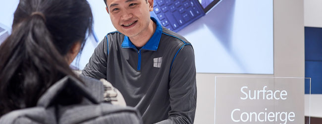 Full lineup including Surface Studio at new Microsoft Surface store in Singapore
