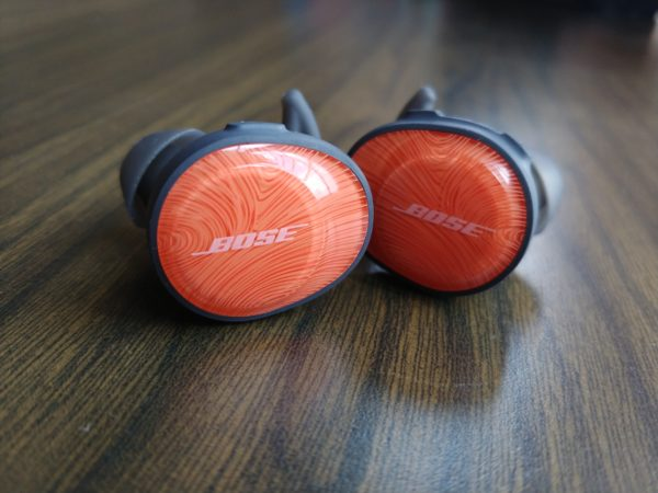 109601d520d Bose's SoundSport Free wireless earphones sound decent but take a little  getting used to when worn for the first time. PHOTO: Alfred Siew