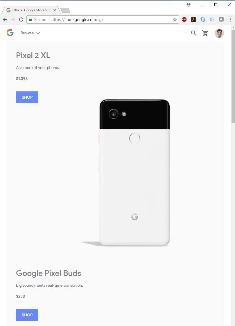 Google Store Singapore Starts Shipping Google Home Phones And More Techgoondu Techgoondu