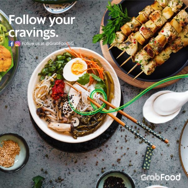 Grab launches GrabFood delivery service in Singapore, aims ...