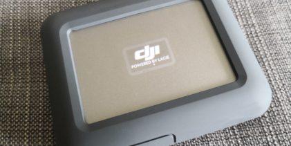 Goondu review: Lacie DJI Copilot external hard disk