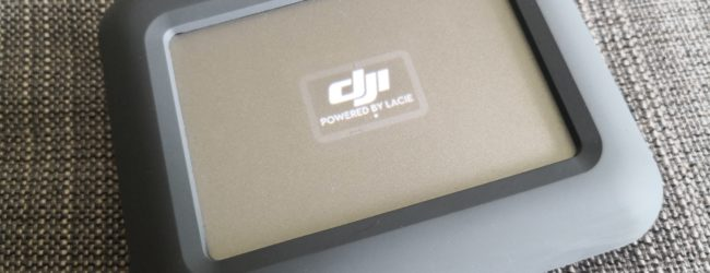 Goondu review: Lacie DJI Copilot external hard disk