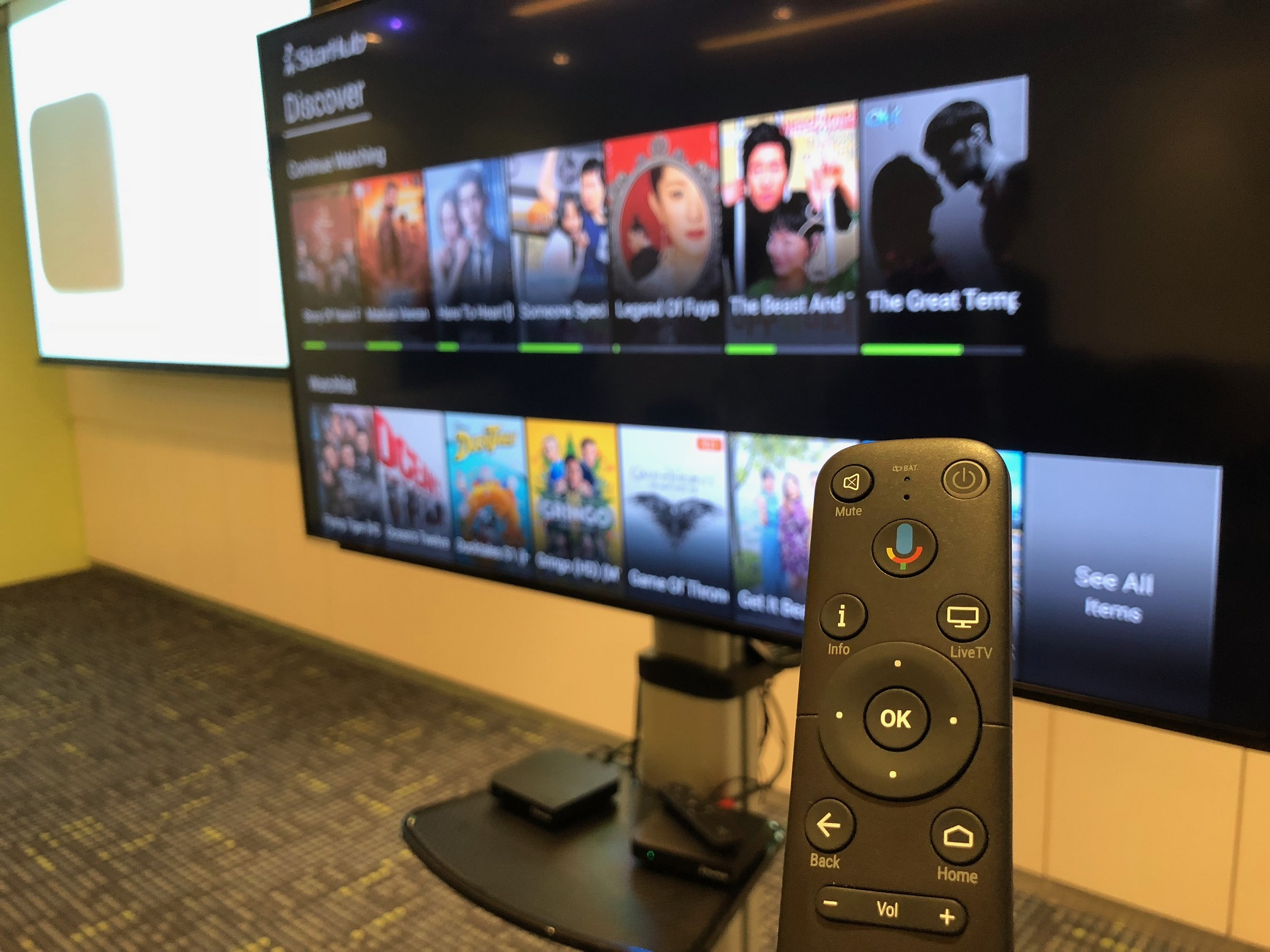 StarHub unveils Android TV box with its StarHub Go video