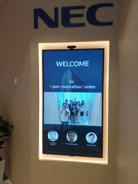 At Singapore innovation centre, NEC's face recognition tech can