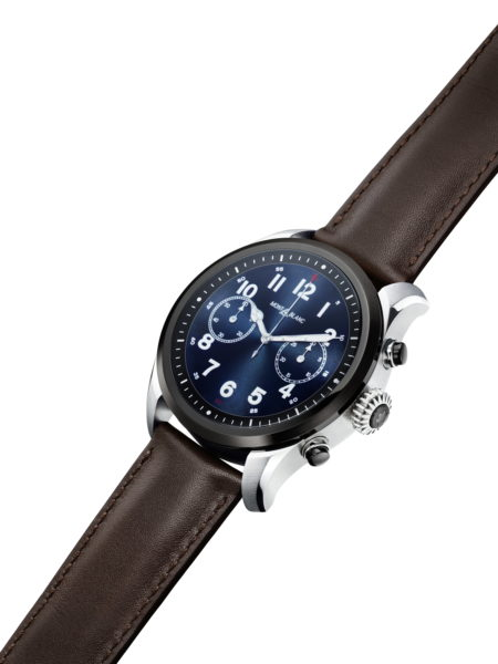 8f6e109c06c Hands on  Montblanc Summit 2 smartwatch seeks to sell