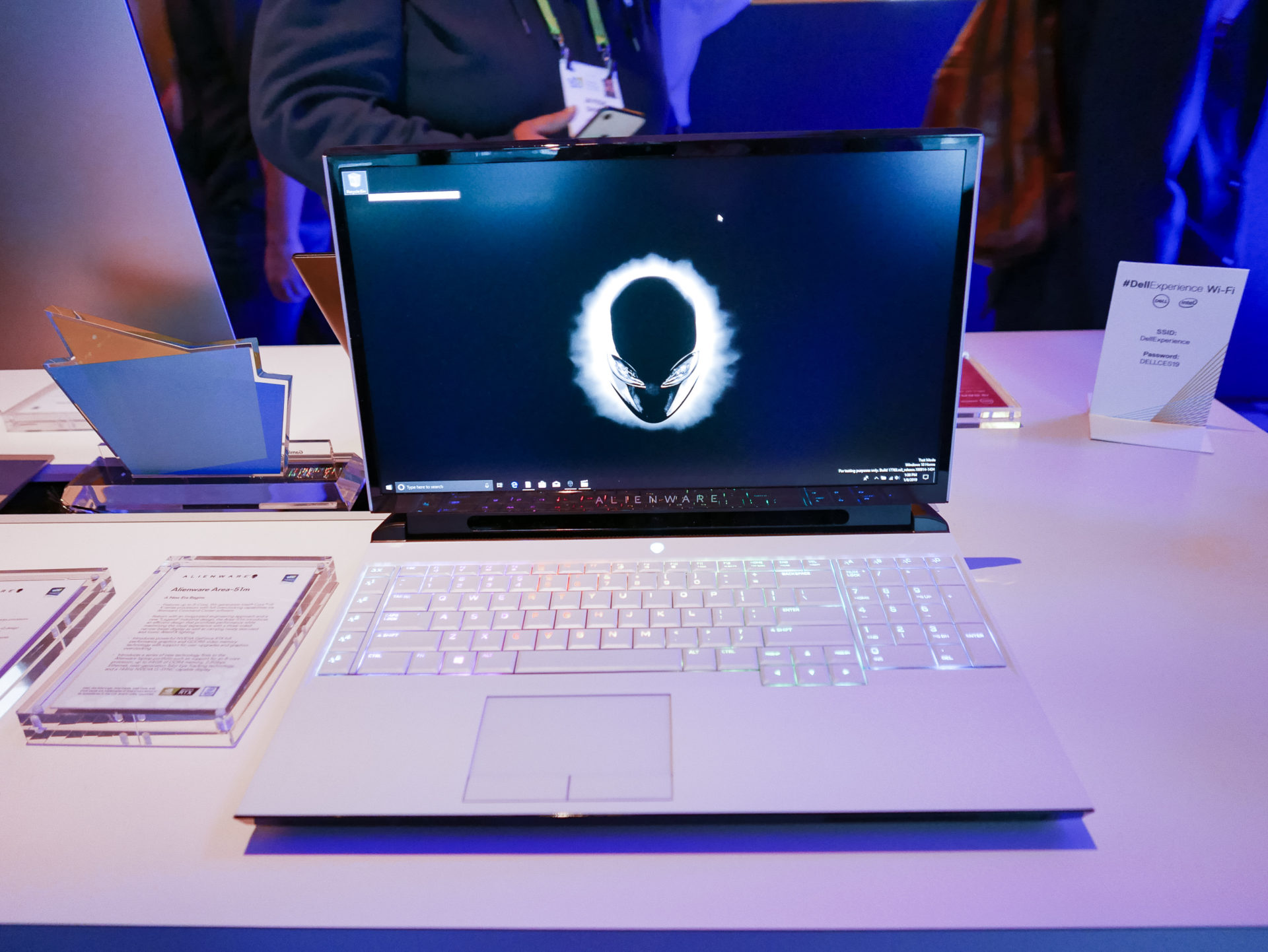 Hands on: Dell's Alienware Area-51m is a chunky, fully