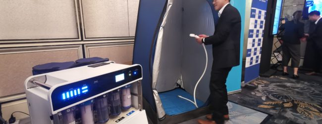 In Japan, technology is helping to predict a tsunami, recycle water for affected citizens