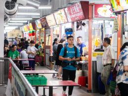 Take a virtual walk through Singapore's hawker centres with Google Street View