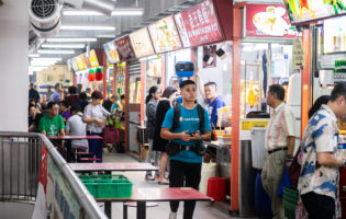Take a virtual walk through Singapore's hawker centres with Google Street View