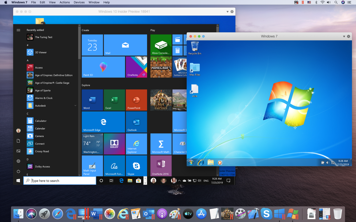 Parallels Desktop 15 promises better graphics running