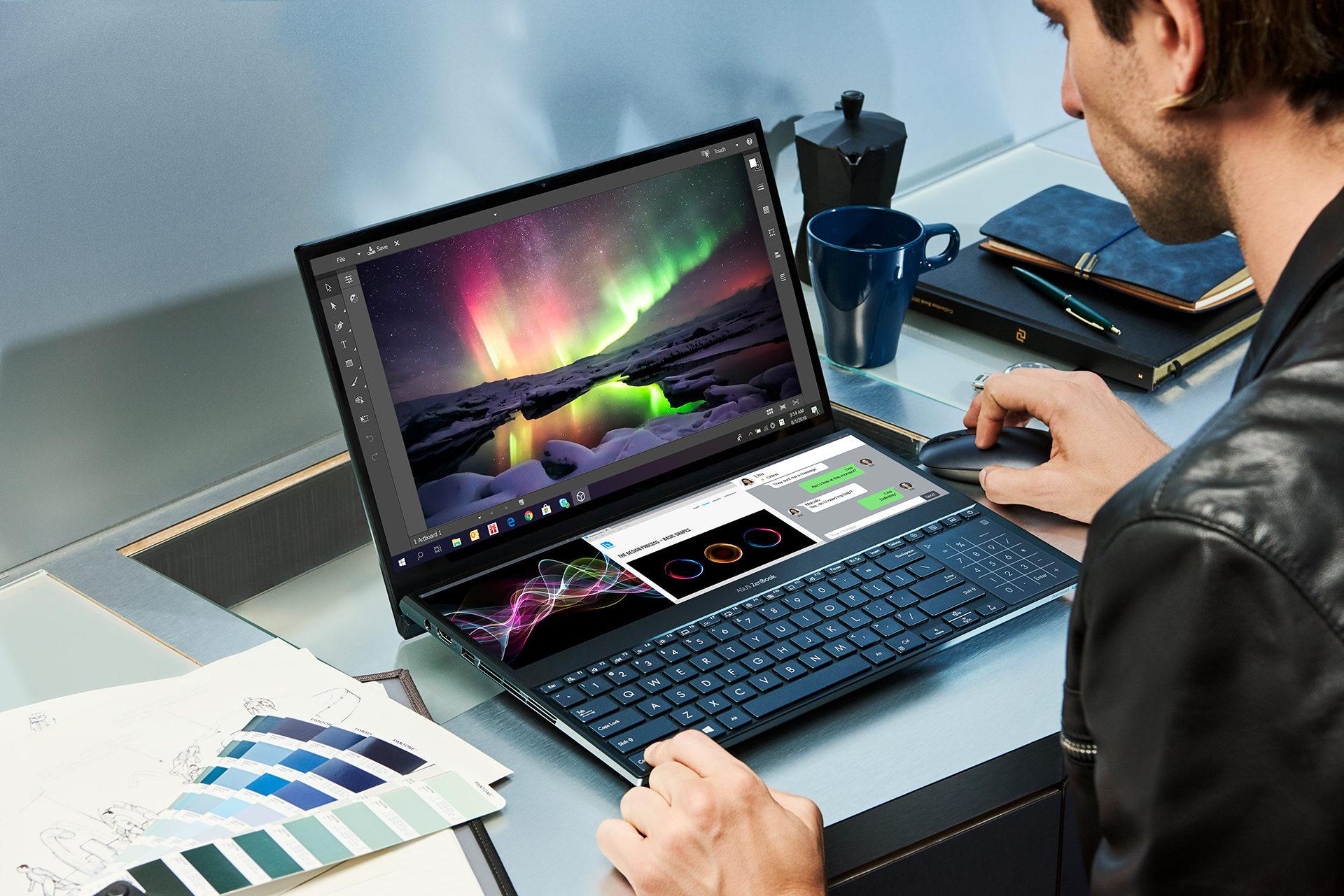 Goondu review: Asus ZenBook Pro Duo UX581 promises easier