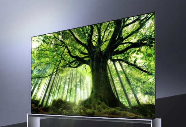 LG to start selling 8K OLED TVs this month