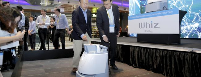 Softbank Robotics launches first rent-a-robot offering for cleaning services in Singapore