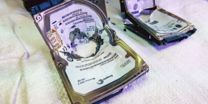 Goondu DIY: Destroying data on your hard disks for good