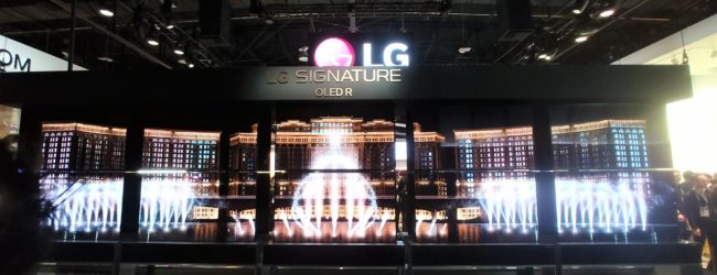 CES 2020: LG's updated rollable OLED TV to ship this year