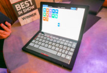 Hands on: Lenovo ThinkPad X1 Fold looks promising with foldable screen
