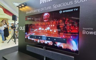 Philips offers another high-end TV option in Singapore with its OLED+ 984