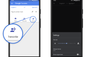 Easily transcribe a speech with updated Google Translate app