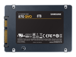 Samsung 870 QVO solid state drive offers home users 8TB of storage