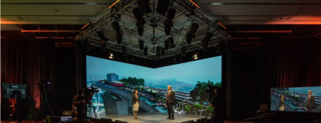 """Marina Bay Sands can """"beam"""" holograms of speakers on stage for hybrid events"""