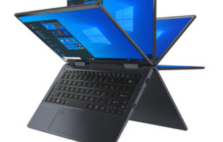 At under 1kg, Dynabook Portégé X30W-J is a powerful convertible laptop that defies gravity
