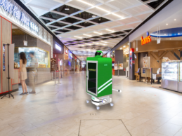 In a Singapore mall, Grab powers up a robot for food deliveries