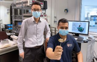 NUS engineers turn Wi-Fi signals into electricity to power an LED light