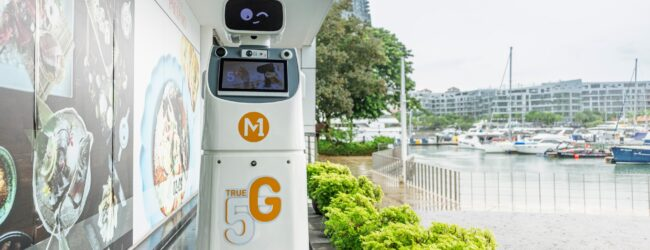 M1 5G Standalone network links up robots, security staff at Singapore's Keppel Bay